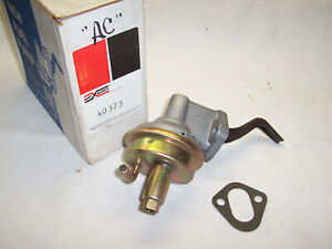 Nos Ac Fuel Pump Pontiac 1965 And 66 326 389 421 Engines 40373