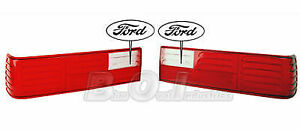 1987 1993 Mustang Gt Stock Tail Lights Taillights Lens Lenses Lense New Pair