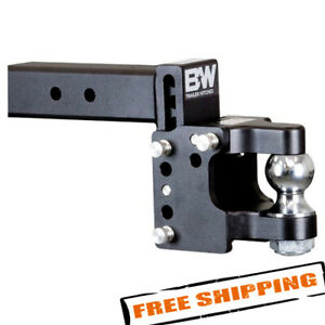 B w Trailer Hitches Ts20056 Pintle Hook With 2 5 16 Ball For 2 1 2 Receiver