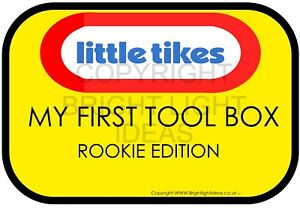 Toolbox Sticker Snap On Bluepoint Tool Chest Rookie Edition Parody G1