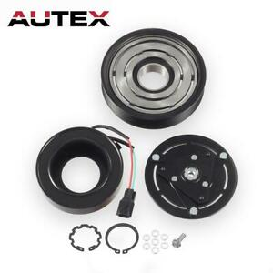 A C Compressor Clutch Kit Pulley Hub Plate Fit 07 12 Nissan Altima Sentra 2 5l