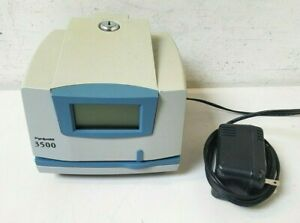 Pyramid 3500 Time Clock Document Stamp 3500