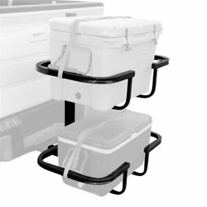 Viking Deluxe Stack Rack Dual Cooler Vehicle Cargo Carrier 2 Hitch Receivers