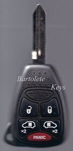 Replacement Entry Remote Key Fits 2004 2005 2006 2007 Chrysler Town