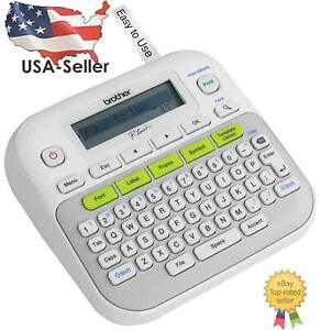 New Brother Ptd210 P touch Easy Compact Label Maker White Usa Seller Fast Ship