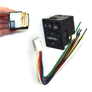 Rear View Mirror Fold Button Switch Control Module For Toyota Rav4 Vios Camry
