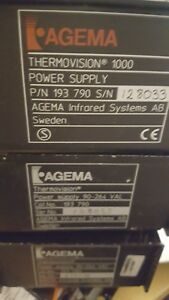 Alot Of 3 Agema Thermovision Power Supply 90 264 Vac As Is