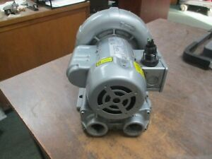 Gast Regenair Regenerative Blower R1102 1 8hp 3500rpm 115 208 230v 2 1 1 1a Used