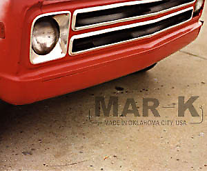 Chevrolet Chevy Gmc Pickup Truck Suburban Steel Smooth Front Pan 1967 1972