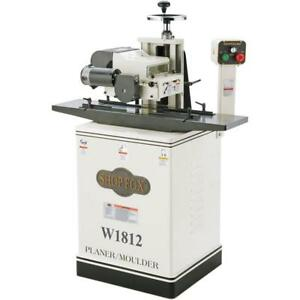W1812 2 Hp 7 Planer Moulder With Stand Free Mobile Base