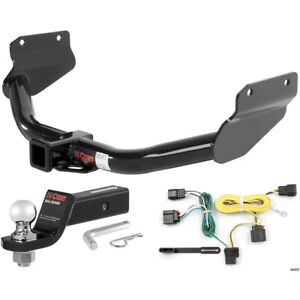 Curt Class 3 Hitch Tow Package With 2 Ball For 2011 2013 Jeep Grand Cherokee