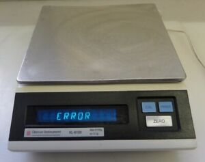 Denver Instruments Xl 6100 Digital Laboratory Balance As Is Powers On With Error