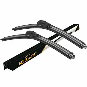 Ablewipe Fit For Saturn Outlook 2009 2007 Beam Windshield Wiper Blades 24 21