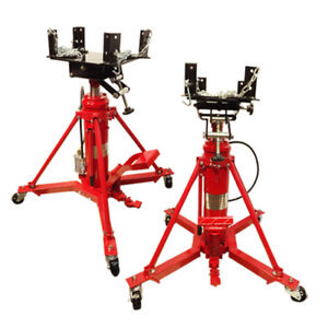 Heavy Duty 1 Ton Air Manual Hydraulic Telescopic Transmission Jack Under Hoist