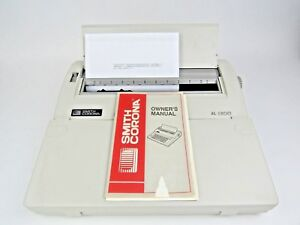 Smith Corona Xl 1800 Electric Typewriter 120v Worderaser Feature Model 5a 1