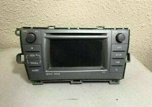 2012 2015 Toyota Prius Radio Receiver And Display 86140 47060 Id 57032