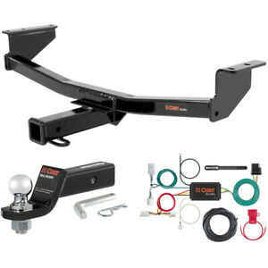 Curt Class 3 Trailer Hitch Tow Package With 2 Ball For 2008 2016 Nissan Rogue