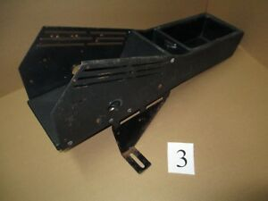 98 11 Ford Crown Victoria Police Center Console 3 Crown Vic Pro Copper Holder