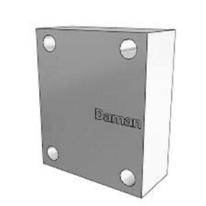 Daman Dd03copm Ductile Crossover Cover Plate For Hydraulic Valve