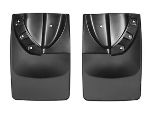 Weathertech No drill Mudflaps For Toyota Tacoma 2016 2019 W Fender Flares Rear