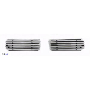 Tow Hook Polished Aluminum Billet Grille For Chevrolet Silverado Suburban Tahoe