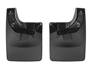 Weathertech No drill Mudflaps For Toyota Tacoma 2016 2019 W Fender Flares Front
