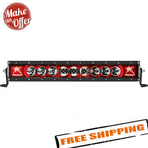 Rigid Industries Radiance 20 Led Light Bar With Red Backlight 220023