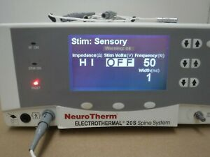 Neurotherm Electrothermal 20s Spine System