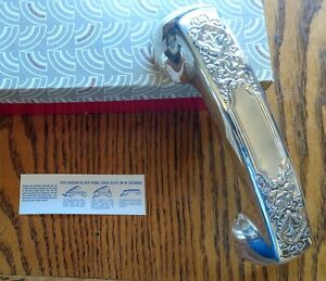 Antique Rotary Phone Silver Plate Cover Gorham Victoria Pattern N I B Never Used