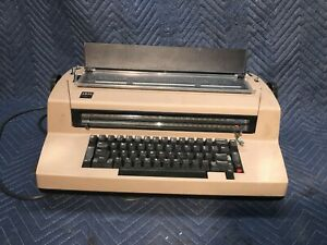 Ibm Selectric Iii Vintage Typewriter Tested Working