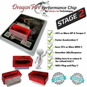 Performance Chip Power Tuning Programmer Stage 2 Fits 2004 Ford Focus