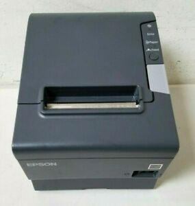 Epson Tm t88v Usb Parallel Pos Thermal Receipt Printer tested