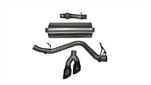 Corsa Performance 14846blk Touring Cat Back Exhaust System