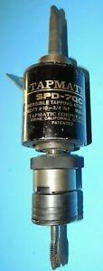 Tapmatic Spd7 qc Reversible Tapping Attach Command Collet Xtc2 Machinist Tool