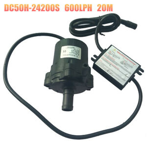High Powerful 24v Dc Micro Brushless Water Pump Dc50h 24200s High Lift 20m 80w