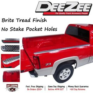 Dz31999 Dee Zee Brite Aluminum Bed Rail Caps Dodge Ram 8 Bed 1994 2001