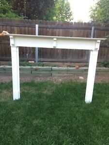 Antique Pre Mid Century Fireplace Mantel From 1894 Home Egg And Dart