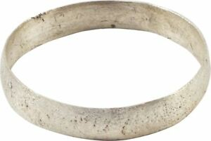 Ancient Viking Wedding Band Ring C 900 Ad Size 10 20 3mm