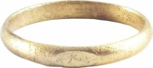 Ancient Viking Wedding Ring Norse Warrior Band C 850 1050 Ad Size 8 18 7mm