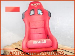 Jdm Sparco Red Bucket Seat For Sale Jdm Sparco Red Seat