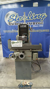 6 X 12 Used Webb Heavy Duty Surface Grinder 612 A4105