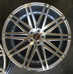 22 Inch Wheels Tires Silver Concave New Fits Bmw 550 645 650 745 750 5x120