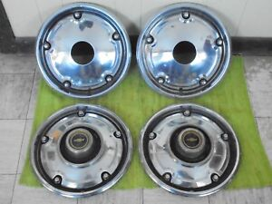 69 82 Chevy Pickup Truck 4x4 Hubcaps 15 Set 4 Wheel Covers 1 2 Ton K10 Hub Caps