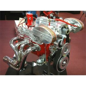 Ford Y block 272 312 Latham Supercharger Setup Chevy Setup Pictured