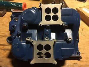 Mickey Thompson Cross Ram Intake Manifold Ford Fe 390 427 Dual Quad