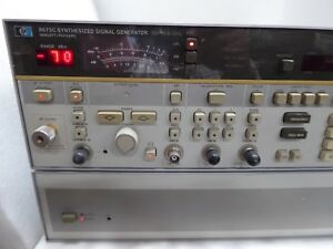 Hp Agilent 8673c Synthesized Signal Generator 50mhz To 18 6ghz