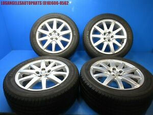 2000 2008 Jaguar S Type Factory 17 17x7 5 Sport Rims Wheels W Tires