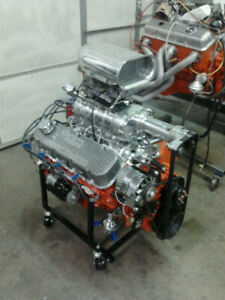 Custom Built Bbc Supercharger Engine Choose Cubic Inch 396 632ci