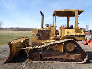 1996 Caterpillar D4h Iii Dozer Orops Power Shift 6 way blade 99hp 9 659 Hrs