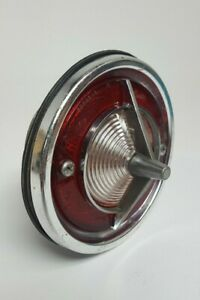 Vtg 1963 Chevrolet Chevy Corvair Monza Back Up Reverse Lamp Light Lens Complete